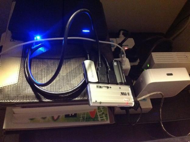 TL-WR720N 挂载USB移动硬盘